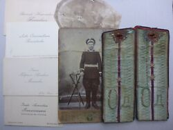 The Collection Of Russian Wwi Imperial Odessa Officer's Items 1914-1917