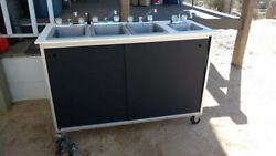 Attn Food Vendors 3 Sinks + Hand-wash Sink For Fairs, Special Events, Etc