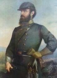 Antique J. A. Elder Lithograph Union Soldier Early-1900and039