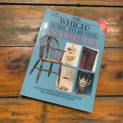 'the Which Guide To Buying Antiques' Book Guide Price Value Silver Furniture