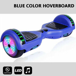 6.5 Bluetooth Hoover Board Electric Balancing Scooter Black Hoverboard No Bag