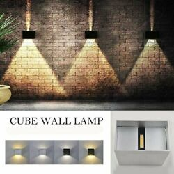 12w Led Wall Lights Up/down Outdoor/indoor Lamp Sconce Waterproof Modern Fixture