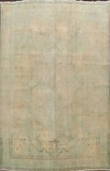 Antique Muted Hand-knotted Traditional Distressed Area Rug Wool Carpet 10x13 Ft