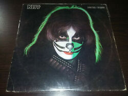 kiss peter criss solo color vinyl green made in salvador boni records mega rare