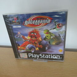 Sony Playstation 1 Ps1 Muppet Racemania New Sealed Francais French Pal