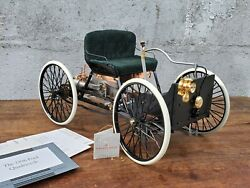 Franklin Mint 1896 Henry Ford Quadricycle 18 Scale Diecast Model First Ford Car