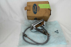 Nos Ford Oem Remote Lh Outside Rear View Mirror E7ab-17743-a