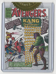 Marvel The Avengers Silver Age Cover Recreation Sketch Card Warren Martineck 8