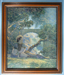 1930s Maxfield Parrish Original Puzzle Jig Of Jigs 2 The Amer. News Co.