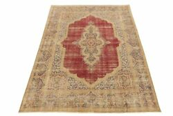 Handmade Area Rug 10x13 Washed Out Antiqued Classic Pattern Attractive Rug