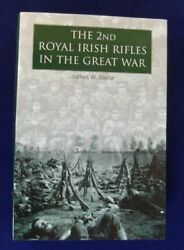 Y The 2nd Royal Irish Rifles In The Great War Taylor Hardcover New