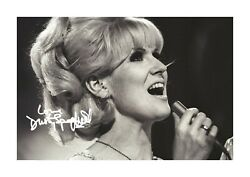 Dusty Springfield 2 A4 Reproduction Autograph Photograph Poster Choice Of Frame