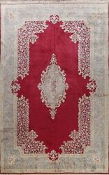Antique Vegetable Dye Traditional Area Rug Wool Hand-knotted Palace Size 11x16