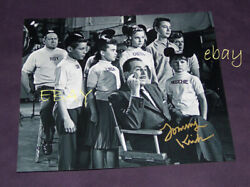 Walt Disney Photo Mouseketeers Signed By Tommy Kirk Rare Disneyland Tv Excellent