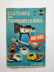 Clutches and Transmissions magazine Spotlite Books #521 Hot Rod Technical librar $6.99