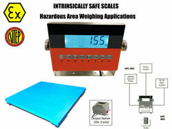 Op-906fs Ntep 2andprime X 2andprime 24 X 24 Certified Explosion Proof Safe Floor Scale