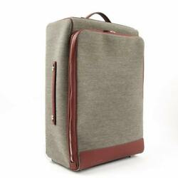 Rare Mint Hermes Caleche Express Carry-on Cabine Suitcase Luggage Trolley $7700