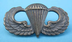 Antique Army Paratrooper Wings Insignia Wwii Military Badge