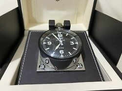 Brand New Boxed Tag Heuer Master Time Hl 881 Rally Cars Mechanical Desk Clock