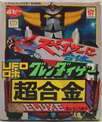 Vintage Poppy Chogokin Ufo Robo Grendizer Figure Toy With Box Rare