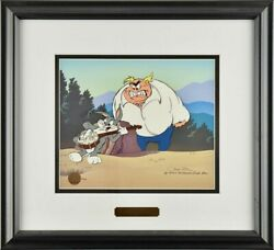 Bugs Bunny Cel Warner Brothers High Strung Signed Chuck Jones Rare Edition Cell