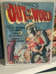 Out Of This World 1 Classic Robot Cover [uk Edition] Super Scarce
