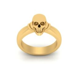 Deathand039s Head Skull Ring Womens Gothic Jewelry Anniversary Gift For Her Halloween