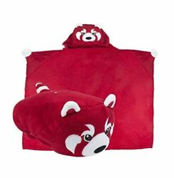 Comfy Critters University Of Indiana Hoosiers Mascot Blanket Pillow Nwot Rare