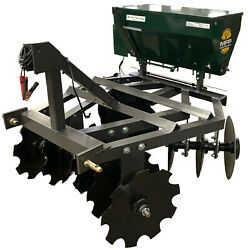 Micro Food Plots Brand 3 Points Disc/seeder Combo Unit 4andprime