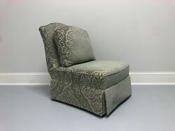 Theodore Alexander Althorp Slipper Chair In Minister Blue Chenille - B