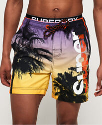 Superdry Mens Photographic Volley Swim Shorts $19.75