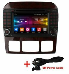 Mercedes 2005-09 C / Clc Class W203 Gps Apple Carplay Android Auto +cam +cable