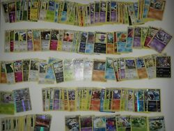 Pokemon Card Lot 180+ Official Tcg Cards Ultra Rare Included   Gx Ex Or Mega Ex