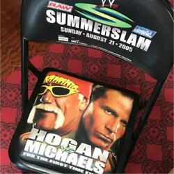 Special Ring Side Commemorative Chair Wwe Pro Wrestling From Japan Very Rare R4
