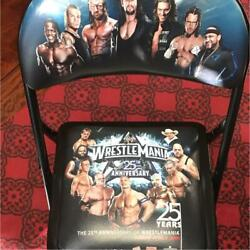 Special Ring Side Commemorative Chair Wwe Pro Wrestling From Japan Very Rare R5