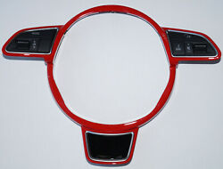 Original Audi S1 Rs7 S7 A7 A6 S6 A8 S8 Rs Red Steering Wheel Cover
