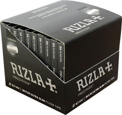 Ultra Slim Filter Tips Rizla Precision Pocket Activated Carbon 5.7mm 54 Filters