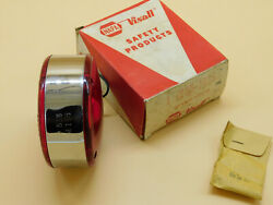 Visall Double Faced Sided Light Red/red 565 Sae 168 Turn Stop Park Brake. Nos.