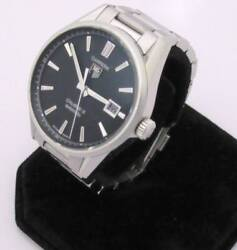 Tag Heuer Carrera Ref.war211a Stainless Steel Calibre 5 Automatic Mens Watch