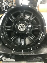 18 Anthem Instigator Alloy Wheels Fits Ford Ranger 6x135 With Tyres