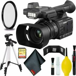 Panasonic AG-AC30 Full HD Camcorder Bundle with 64GB Memory Card + Wallet