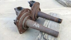 1928 1929 Model A Ford Aa Truck Front Spindles Original Pair Express