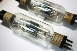 Detewe Type Ve / Ve_detewe, Antiques Direct Heated Triodes From 1920's, 2 Pcs