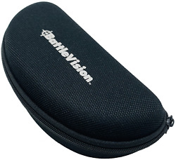 Battle Vision High Tech UV Protection Shades Glasses Black Carrying Case Pouch $7.99