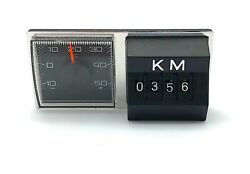 Magnet Thermometer And Km Counter Oldtimer Vw Beetle Mercedes Benz Porsche Audi