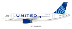 Inflight United Airlines Airbus A319 N876ua 1/200 Diecast Plane Model Aircraft