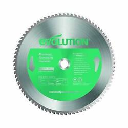Evolution Power Tools 14 Blade Aluminum Cutting Saw Blade, 14-inch X 80-tooth
