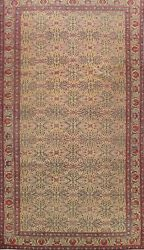 Antique All-over Sivas Vegetable Dye Turkish Oriental Area Rug Hand-knotted 6x10