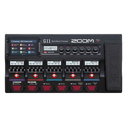 Zoom G11 Multi-effects Processor For Guitar W/ 5-inch Color Touchscreen