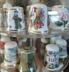 Huge Selection Of Vintage Collectable Thimbles - You Choose Multi-buy Offer Vgc